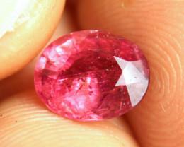 2.21 Carat Fancy Raspberry Pink Tourmaline - Gorgeous