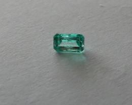 Stunning Nigerian Emerald  0. 655 cts