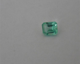 Enjoyable looking Nigerian Emerald Gemstone  .765ct