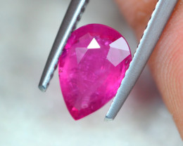 1.06Ct Natural Pink Tourmaline Pear Cut Lot LZB516