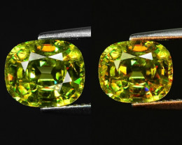 Mind Blowing Fire 2.77 Cts Chrome Sphene ~ SG1