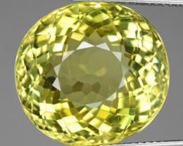 BLACK FRIDAY 27.43 Cts Canary Yellow Apatite ~ Awesome Color and Luster ~ A