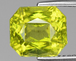 5.30 Cts Canary Yellow Apatite ~ Awesome Color and Luster ~ AP35