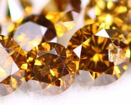 Diamond 1.08Ct Natural Orange Color Fancy Diamond Lot BM269