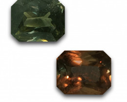 Natural Unheated Color Change sapphire |Loose Gemstone|New| Sri Lanka