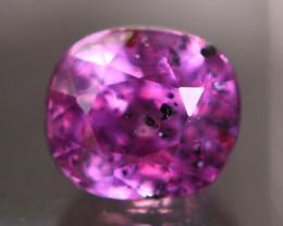 Certified Sapphire 1.35Ct Natural Pinkish Purple Sapphire ER65
