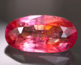 Certified Sapphire 1.14Ct Natural Orangy Purple Sapphire ER66