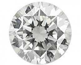 0.20 Carat Natural Round Diamond (G/SI) - 3.70 mm