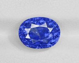 Blue Sapphire, 4.99ct - Mined in Sri Lanka | Certified by GRS