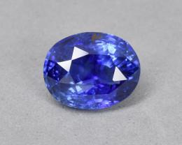 2.55 Cts Certified Beautiful Natural Sri Lankan Blue Sapphire