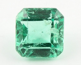 0.46ct Natural Colombian Emerald Loose Gemstone No Reserve Auction