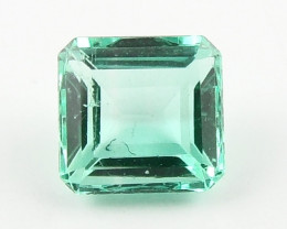 0.40ct Natural Colombian Emerald Loose Gemstone No Reserve Auction