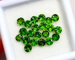 2.42cts Natural Green Chrome Diopside Lots / AK61