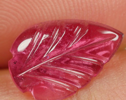 1.60CRT BEAUTY CARVING LEAF TOURMALINE-
