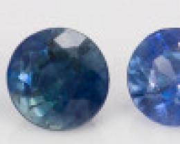2.40 mm Sapphire 0.90 ct  Sri Lanka GPC Lab