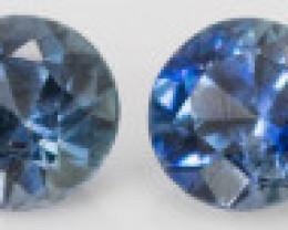 2.40 mm Sapphire 0.73 ct  Sri Lanka GPC Lab