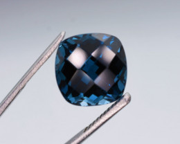 N-R London Blue Topaz  8.70  carats
