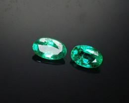 .44tcw  Panjshir Emerald Matched Pair