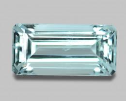 12.69 Cts Untreated Very Rare Sky Blue Color Natural Aquamarine Gemstone