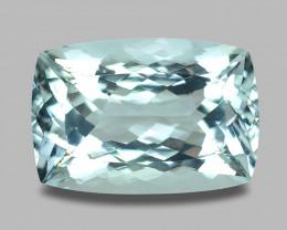 17.48 Cts Untreated Very Rare Sky Blue Color Natural Aquamarine Gemstone