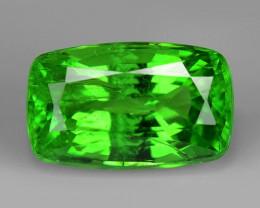 1.46 Cts Untreated Earth mined Green Color Natural Tsavorite Garnet Gemston