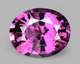 2.47 Cts Untreated Very Rare Purple Pink Color Natural Spinel Gemstone