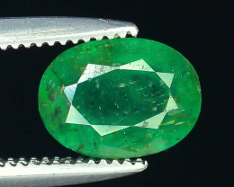 Top Color 1.0 ct Zambian Emerald