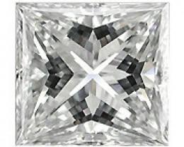 0.30 Carat Princess Cut Diamond (G/SI) - 3.70 mm