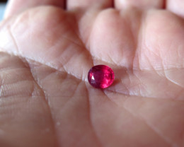 TOP  NATURAL RUBY FROM MOZAMBIQUE 1.32ct..EYE CLEAN