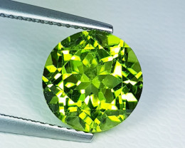 4.72 ct  Top Quality Gem Round Cut Top Luster Natural Peridot