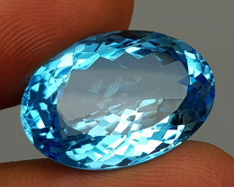 20.55 Crt  Blue Topaz  Natural Gemstones JI43