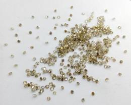 Calibred 5.76ct  Diamond Parcel , 100% Natural Untreated