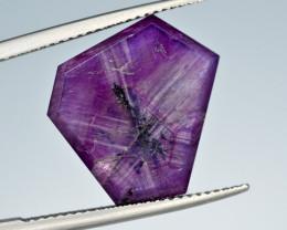 Rarest 9.95 Ct Corundum Sapphire Trapiche From Kashmir Valley
