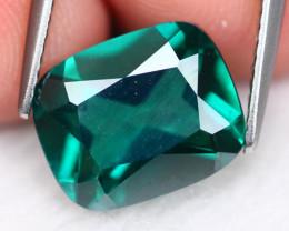 Green Topaz 4.59Ct Natural Vivid Green Brazilian Topaz 16AF462