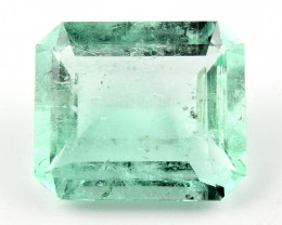 5.50ct Natural Colombian Emerald Loose Gemstone No Reserve Auction