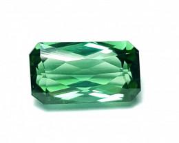 2.6 Cts Loop-clean Bright Green-blues Emerald Scissor cut Tourmaline -Afg