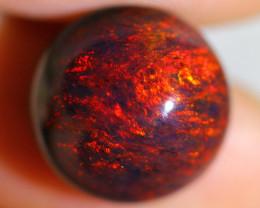 5.10cts Natural Ethiopian Smoked cabochons Black Opal / BIN246