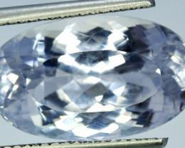 Kunzite 21.30 CT Natural Aqua Color Kunzite Gemstone