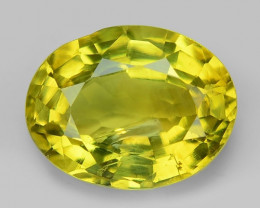 1.80 Cts Very Rare Yellowish Green Color Natural Chrysoberyl Gemstones