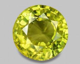 2.00 Cts Very Rare Yellowish Green Color Natural Chrysoberyl Gemstones
