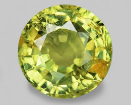 2.03 Cts Very Rare Yellowish Green Color Natural Chrysoberyl Gemstones