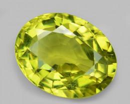 2.17 Cts Very Rare Yellowish Green Color Natural Chrysoberyl Gemstones