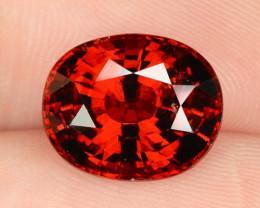 7.15 Cts World Very Rare Red Color Natural Spessartite Garnet Gemstone