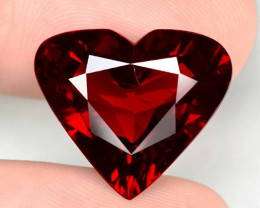 14.84 Cts World Very Rare Red Color Natural Spessartite Garnet Gemstone