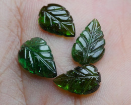 5.80CRT BEAUTY LEAF CARVING TOURMALINE PARCELS-