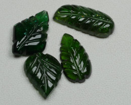 8.60CRT BEAUTY LEAF CARVING TOURMALINE PARCEL-