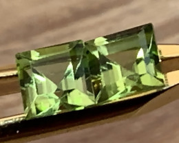 ⭐ PERIDOT PAIR -  BRIGHT GEMS 5.00MM EACH