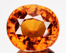 ~LOVELY~ 0.91 Cts Natural Fanta Orange Spessartite Garnet Cute Heart Namibi