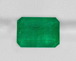 Emerald, 9.04ct - Mined in Brazil | Certified by GRS