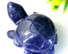 Genuine 40.00 Cts Iolite Turtle